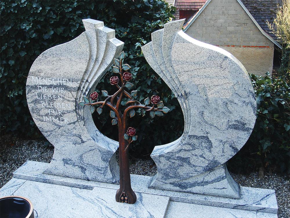 Individuelle Grabmale von Hand gefertigt